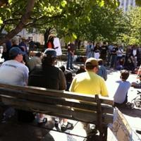 Occupy Memphis demonstrators
