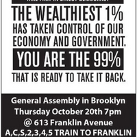 Occupy Brooklyn Fliers